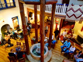 Live music at the Adobe Bar in the Taos Inn in Taos, New Mexico