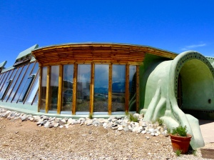 Earthship in Taos, New Mexico