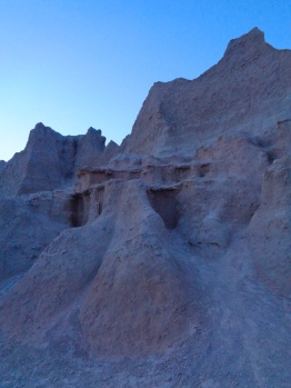 Door and Window Area at sunset in Badlands National Park in South Dakota