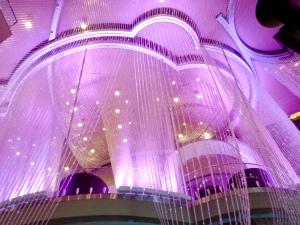Chandelier Lounge at The Cosmopolitan in Las Vegas, Nevada