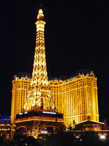 Exterior of Paris in Las Vegas, Nevada