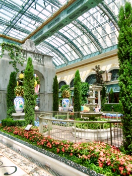 Summer Display at the Conservatory & Botanical Gardens at Bellagio in Las Vegas, Nevada