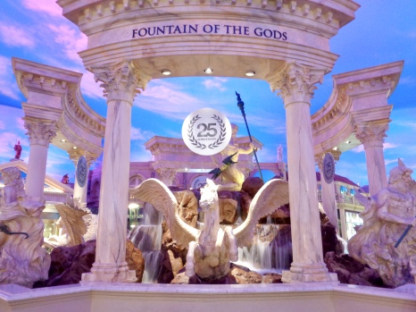 Fountain of the Gods in the Forum Shops at Caesars Palace in Las Vegas, Nevada