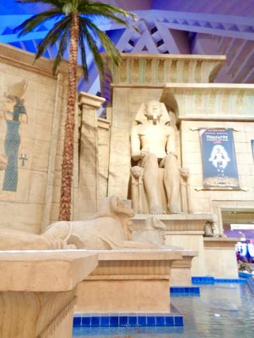 Interior of Luxor in Las Vegas, Nevada