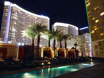 Pool Cafe at Mandarin Oriental in Las Vegas, Nevada