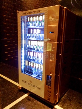 Champagne Vending Machine at Mandarin Oriental in Las Vegas, Nevada