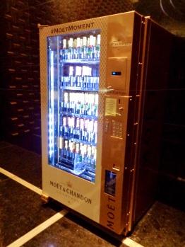 Champagne Vending Machine at Mandarin Oriental in Las Vegas, Nevada