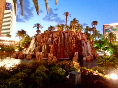 Volcano at The Mirage in Las Vegas, Nevada