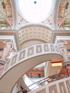Entrance to the Forum Shops at Caesars Palace in Las Vegas, Nevada