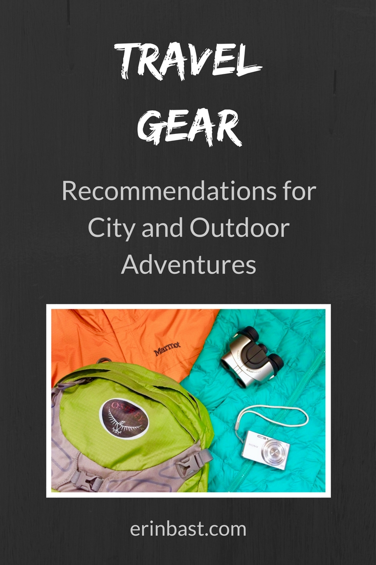 Recommended Travel, Photography, Airplane, Luggage, Hiking, Snowshoeing, and Camping Items Plus Favorite Travel Apps and Hotel Room Workouts