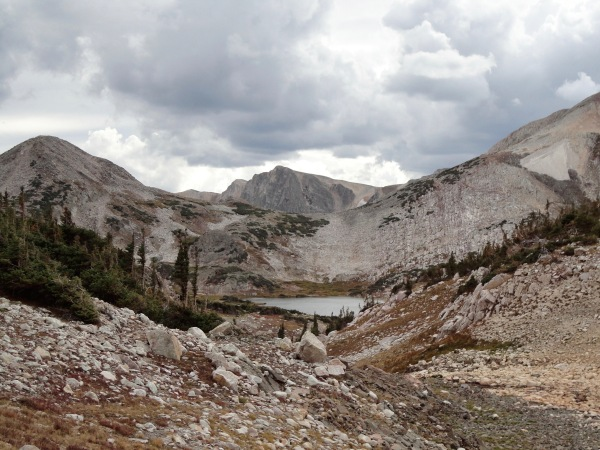 Snowy Range in Medicine Bow National Forest in Wyoming