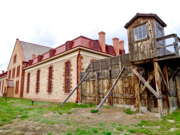 Wyoming Territorial Prison at the Wyoming Territorial Prison State Historic Site