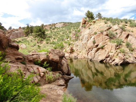 Cliff Hanger Trail in Curt Gowdy State Park in Wyoming