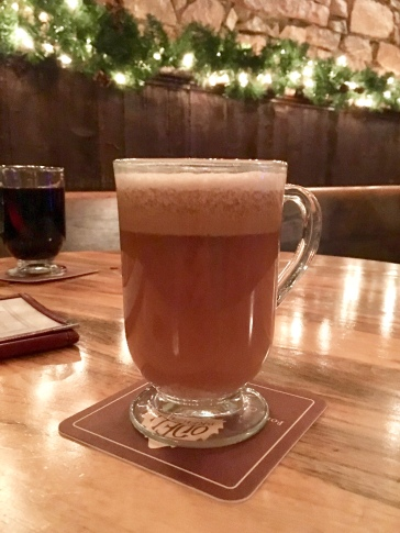 Hot buttered rum at Front Street Tavern in Laramie, Wyoming